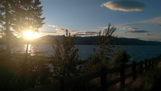 Lake Pend Oreille Sunset-1
