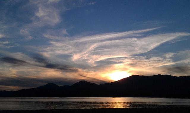 Lake Pend Oreille Sunset-2