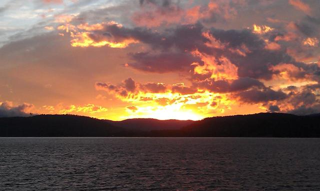 Lake Pend Oreille Sunset-3