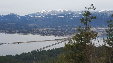 Sandpoint from Gold Hill