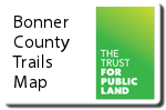 Bonner County Trails Map icon