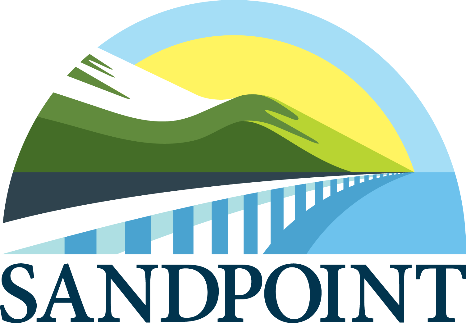 City of Sandpoint Logo - Full Color